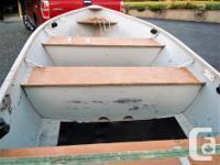 1995 Misty River boat Model 14 CT. 15 hp Evinrude short