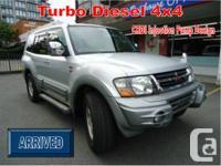 tero (Pajero) Turbo Diesel with 134km mileage simply!