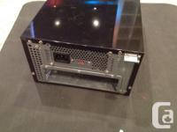 older mitx case - 250 power supply - good for low power