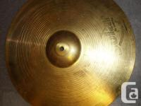 Mixed Zildjian & Sabian Cymbal Set. Includes Zildjian