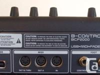 Used BEHRINGER B-Control Fader BCF2000 $100 MISSING A