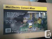 This is a NEW still in box, never unpacked mixer. 120