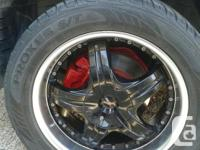 I'm marketing a set of MKW efficiency wheels with