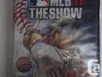 MLB 11: The Show - *SEALED*  Condition: Brand New,