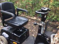 FORTRESS 1700 TA 4 wheel Mobility Scooter...gently used
