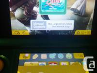 16gb sd card, 2 game cartridges Comes pre loaded with