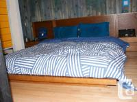 Selling this nice queen size bed for only 400, real