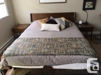 Modernica Case Study Queen size Alpine Bed and 2 Night