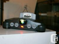 modified/modded Nintendo 64 system  comes with all the