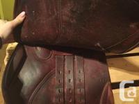 Mondega Augustine close contact saddle 17'5 seat,