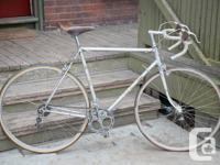 For sale here is a classic Swiss road bike, the Mondia
