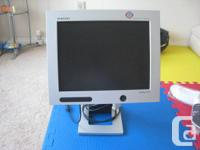 "Samsung 15"" monitor without adapter, $5  Sony DVD"