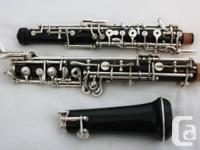 Fox Renaud Oboe Model 330 Artist.  Identification