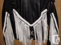 Beautiful biker/motorcycle design jacket, in EXTREMELY