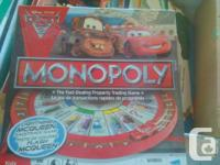 Monopoly game - Disney CARS 2 theme. Special Spinner