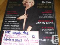 Collactores issue PlayBoy Featuring Marlyn Monroe.