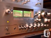 RARE, REMARKABLE SEEMING AMPLIFIER, AS GOOD AS MANY BIG