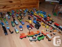MONSTER THOMAS THE TRAIN COLLECTION 300 PIECES HERE WE