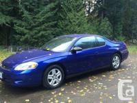 Make. Chevrolet. Year. 2007. Colour. Blue/Purple. kms.