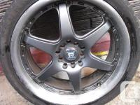 Selling a used set of 18 inch universal Aluminium Rims