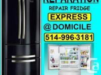 L'EXPERT technicien FRIGORISTE reparateur frigo fridge