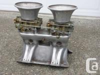 Offenhauser 360 level turbo thrust Tunnel Ram for 440