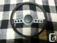 Mopar TUFF steering wheel for 70's Cuda, Challenger,
