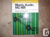 """Morris, Austin and MG 1100 Pearsons Illustrated Car"