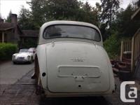 Make Morris Model Minor Year 1958 Colour Grey Trans