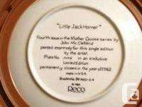 Mother Goose Series, limited edition...closed in 1982.