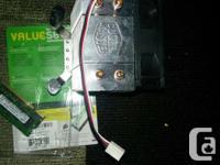 I have: One ASRock g41m-vs3 socket 775 motherboard. In