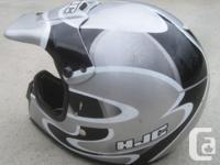 HJC CL-XC Enduro MX Motocross Helmet for Sale. Size