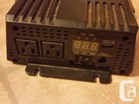 $50 Firm. For sale or trade for smaller inverter with