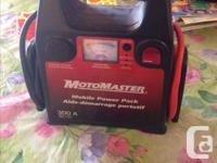 motomaster Mobile Power pack 300A to boost/jump start