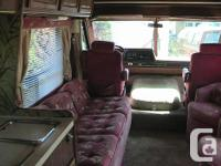 33 foot triple -e motor home , very good condition ,
