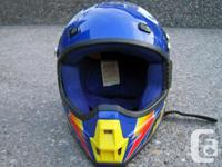 Small size HJC CLX Motorcross Helmet. Removable and