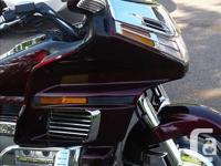 Make Honda Year 1990 kms 101980 1990 Goldwing GL 1500