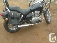 for sale 1997 Vulcan 500 in good shape for $ 2200 ins