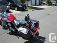 2008 Kawasaki 1500cc classic, some extras, low 26 kms