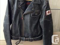 Leather Jacket $250 Hein Gericke - Streetline