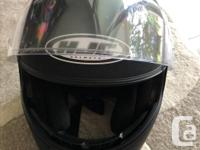 Motorcycle Helmet with face shield - includes sun shade