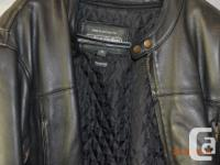 Men's Leather motorcycle jacket from the leather