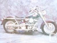 "Depicts a side picture of a generic motorcycle 1"" black"