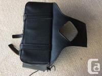 Motorcycle Saddle Bags and Brackets for sale. Will sell