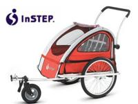 The InStep Rocket trailer provides a smooth trip and a