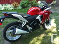 Make Honda Model Cbr Year 2012 kms 8000 Selling my 2012