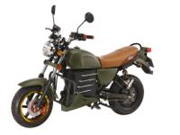 The Motorino XMb looks like a motorbike used as a prop