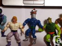 Offering Lot of 5 Masters of the Universe MOTU Figures
