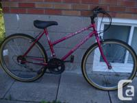 """mountain bike with 26""""wheels,,,ready to ride if"""
