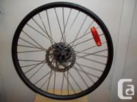 """Mountain bicycle Wheels Black 26"""" X 1"""" Dual Wall (front"""